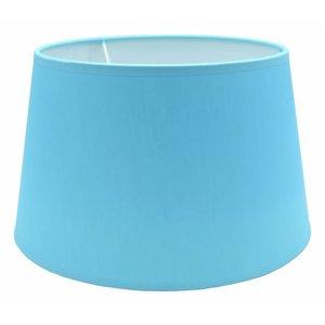 RamLux Lampenkap 20 cm Drum CHINTZ Lichtblauw