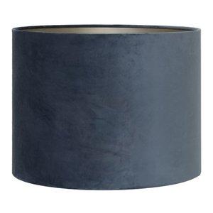 Light & Living Lampenkap 20 cm Cilinder VELOURS Dusty Blue