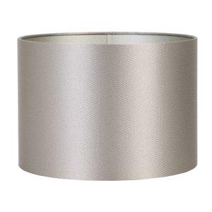 Light & Living Lampenkap 25 cm Cilinder KALIAN Zilver