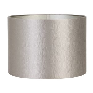 Light & Living Lampenkap 40 cm Cilinder KALIAN Zilver