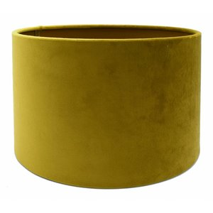 RamLux Lampenkap 25 cm Cilinder VELOURS Spiced Honey