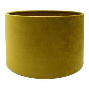 RamLux Lampenkap 50 cm Cilinder VELOURS Spiced Honey