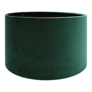 RamLux Lampenkap 25 cm Cilinder VELOURS Dutch Green