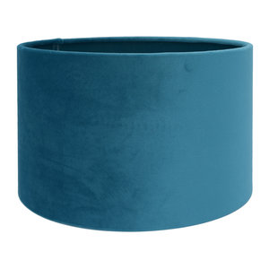 RamLux Lampenkap 15 cm Cilinder VELOURS Casablanca Blue