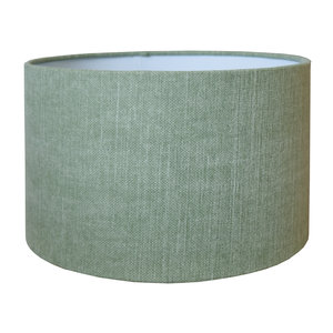 RamLux Lampenkap 15 cm Cilinder VINTAGE Pistache Groen