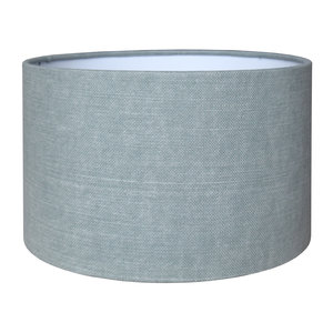 RamLux Lampenkap 15 cm Cilinder VINTAGE Mint Groen