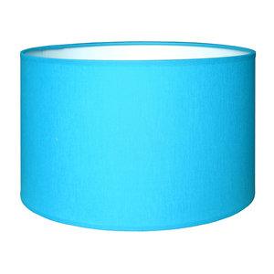 RamLux Lampenkap 15 cm Cilinder CHINTZ Aqua Blauw