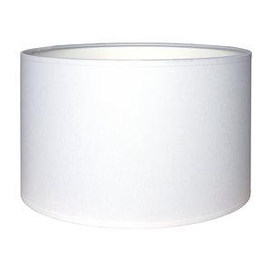 RamLux Lampenkap 15 cm Cilinder CHINTZ Wit