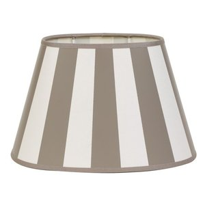 Light & Living Lampenkap 25 cm Ovaal KING Taupe