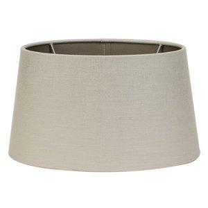 Light & Living Lampenkap 25 cm Ovaal TUFF Zilver