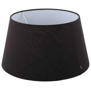 Collectione Lampenkap 45 cm Drum AVANTGARDA Zwart
