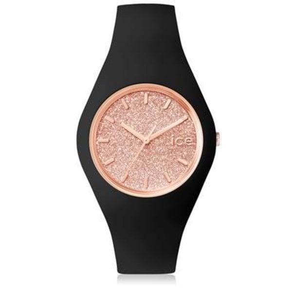 Ice Watch Ice Watch  Ice Glitter -black/rose gold - medium