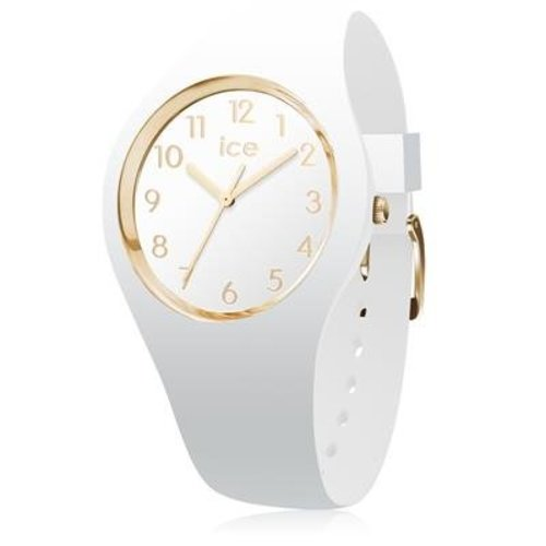 Ice Watch Ice Watch Ice Glam - wit/goud - small
