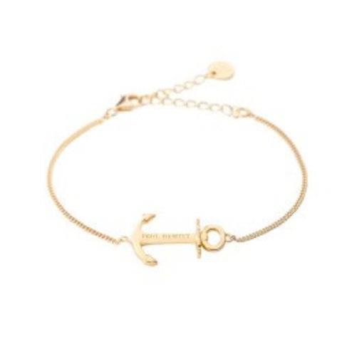 Paul Hewitt bracelet: gold