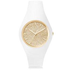 Ice Watch I W Ice Glitter - wit/goud - medium