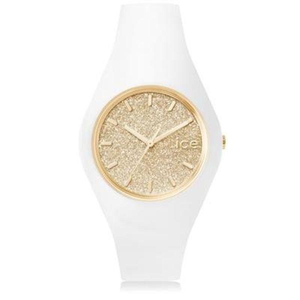 Ice Watch Ice Watch Ice Glitter - wit/goud - medium