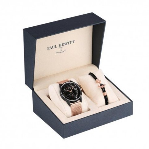Paul Hewitt watch + bracelet