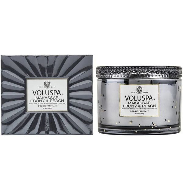 Voluspa Voluspa Makassar, Ebony & Peach