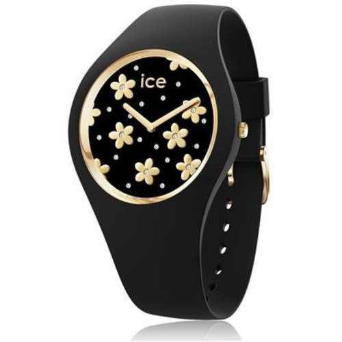 Ice Watch I W Ice flower - Precious black- medium
