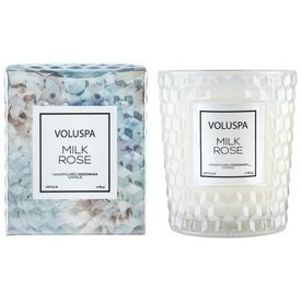Voluspa Voluspa Candle colored glasses