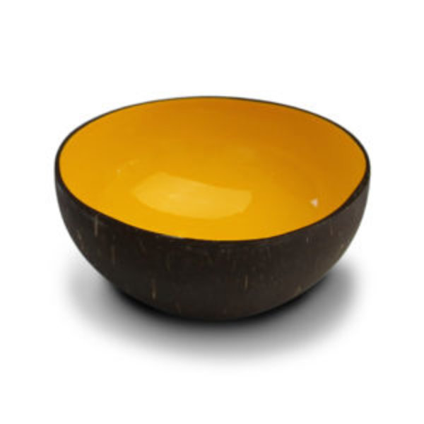 Noya Noya coconut bowl Plain Yellow