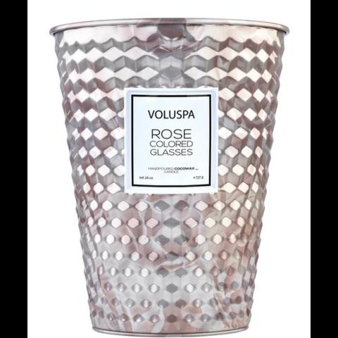 Voluspa Candle 2 wick tin