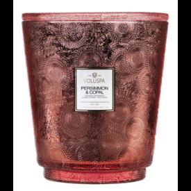 Voluspa Voluspa Hearth 5 Wick Glass Candle