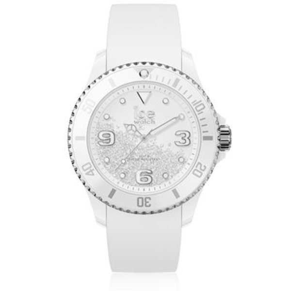 Ice Watch I W ICE crystal - White silver - Smooth - Medium - 3H