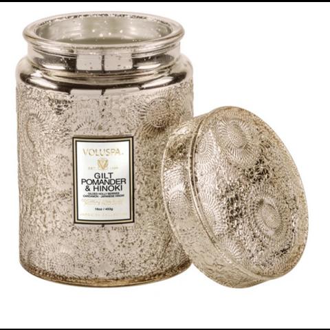 Voluspa Candle big jar with glass lid