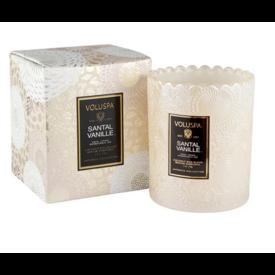 Voluspa Voluspa Candle Scalloped glass boxed