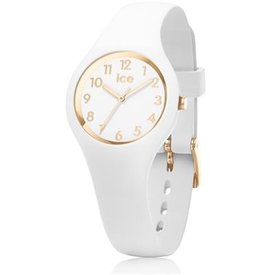 Ice Watch I W Ice Glam - wit/ gold - extra smal