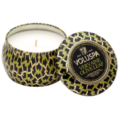 Scented candle: Vervaine Olive Leaf