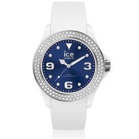 Ice Watch I W ICE crystal - white deep blue - smooth - medium