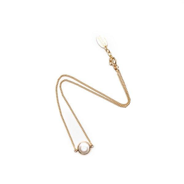 Souvenir de pomme Fine gold solo pearl