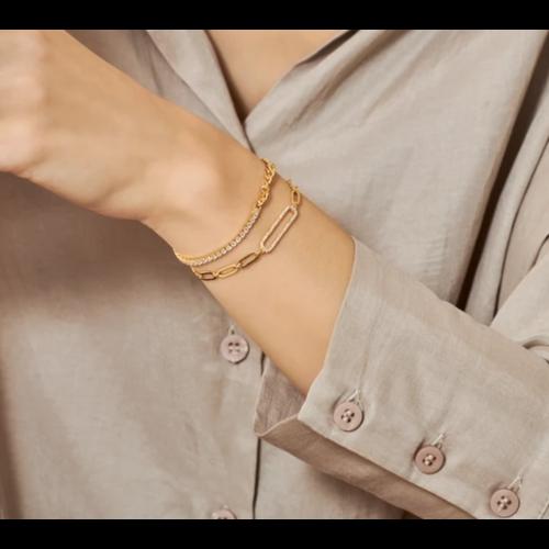 I.Ma.Gi.N. I.Ma.Gi.N. armband curb white