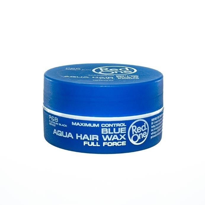 Red One Blue Hair Wax