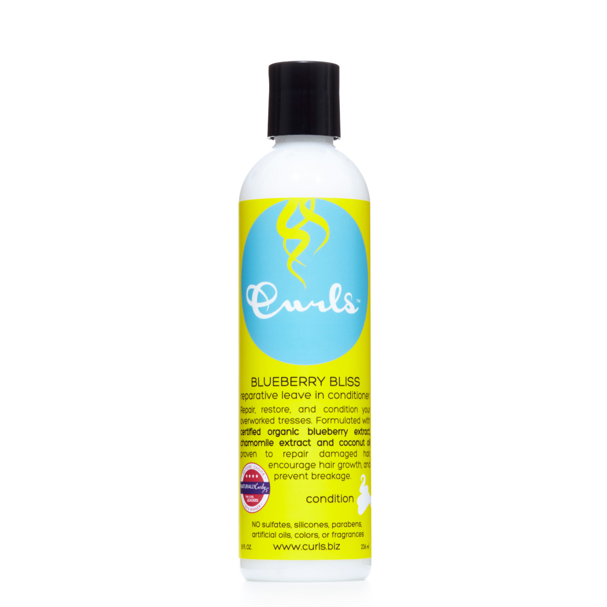 Curls Curls Blueberry Bliss Reparative Leave In Conditioner