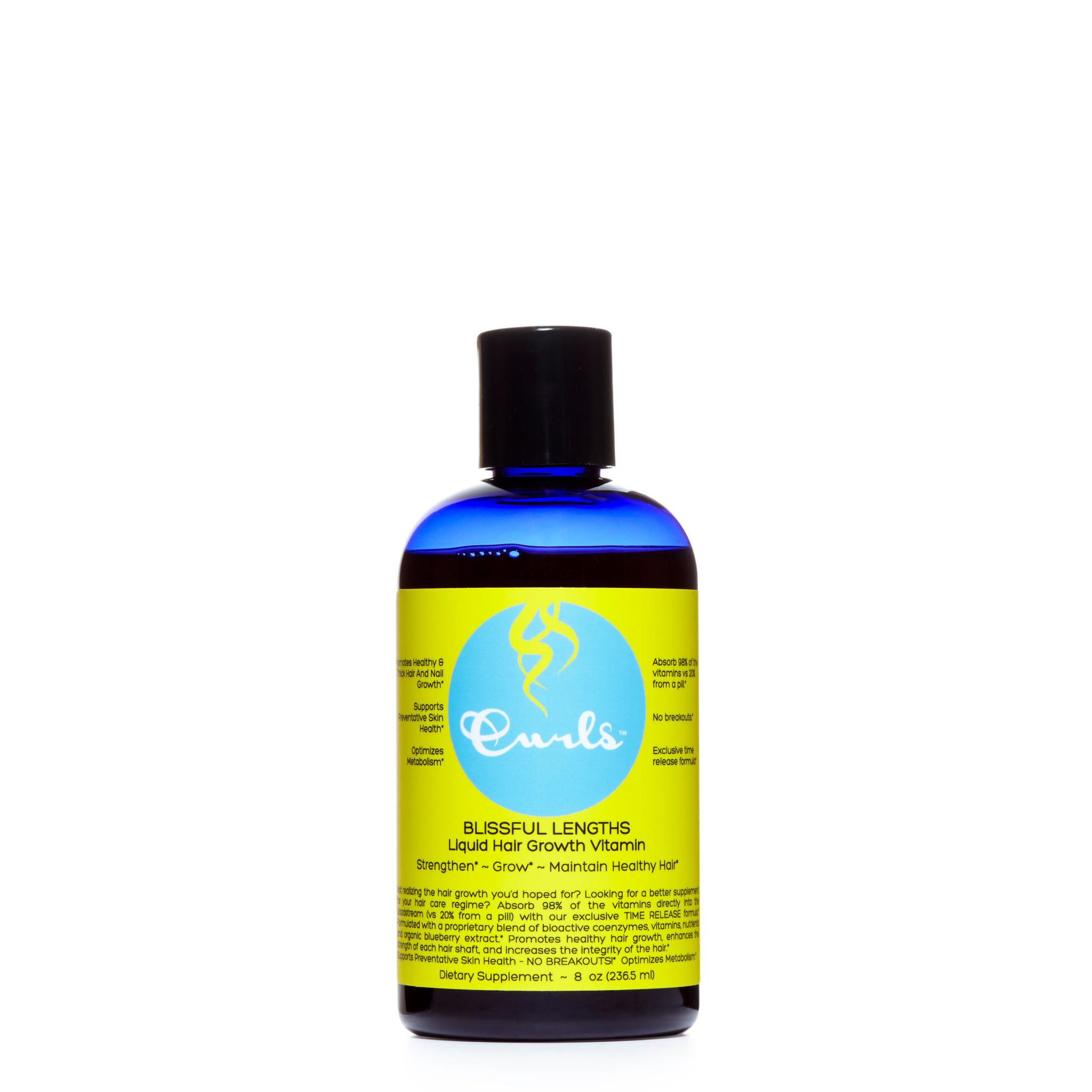 Curls Curls Blissful Lengths Blueberry Liquid Hair Growth Vitamin
