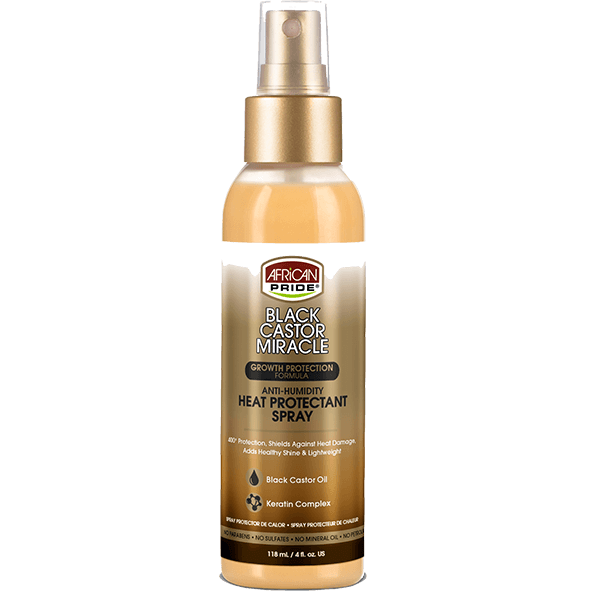 African Pride African Pride Anti-Humidity Heat Protectant Spray