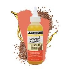 Aunt Jackie's Curls & Coils Aunt Jackie's Nourish My Hair – Flaxseed & Monoi