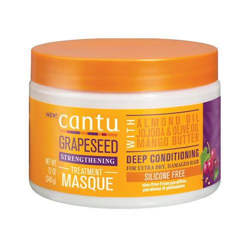 Cantu Beauty Cantu Grapeseed Strengthening Treatment Masque 340g