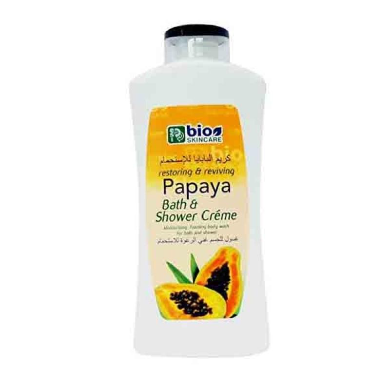 Bio Skincare Bio Skincare Papaya Bath & Shower Creme 750ml