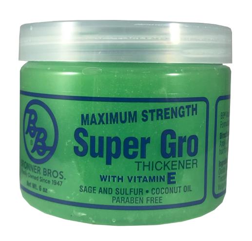 Bronner Bros. Bronner Brothers Maximum Strength Super Gro 6 oz