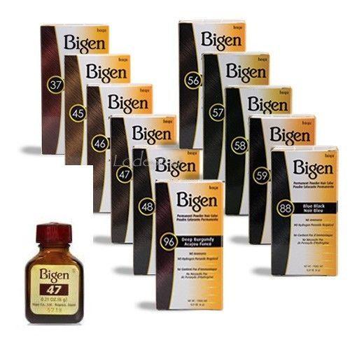 Bigen Bigen Permanent Powder Hair Colour