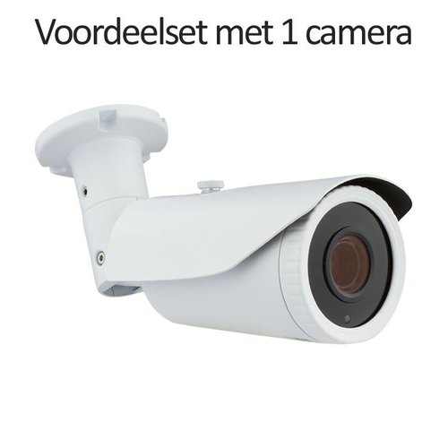 Neview CHD-CS015MB1 - Set met recorder en 1x CHD-5MB1 IP camera