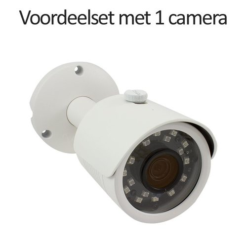 Neview CHD-CS01B3 - Set met recorder en  1x CHD-B3 IP camera