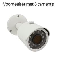CHD-CS08B3 - 9 kanaals NVR inclusief 8 CHD-B3 IP camera's