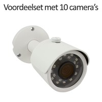 CHD-CS10B3 - 16 kanaals NVR inclusief 10 CHD-B3 IP camera's