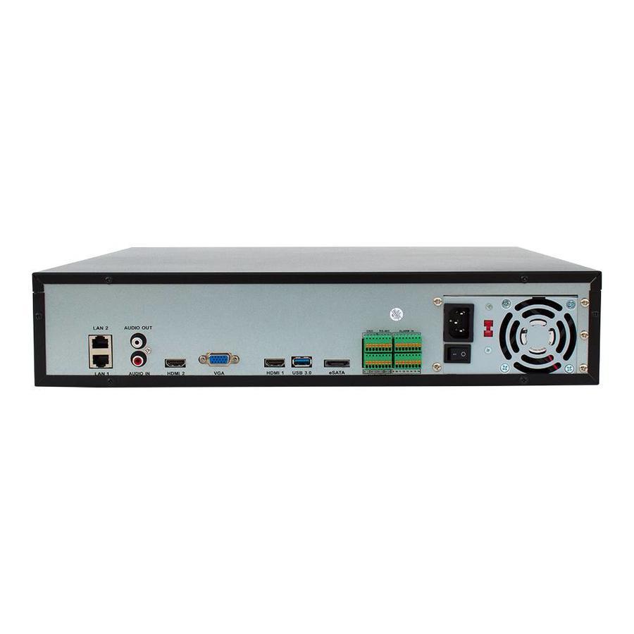 CHD-4K-NVR64 - NVR voor 64 x 4K UHD IP camera's