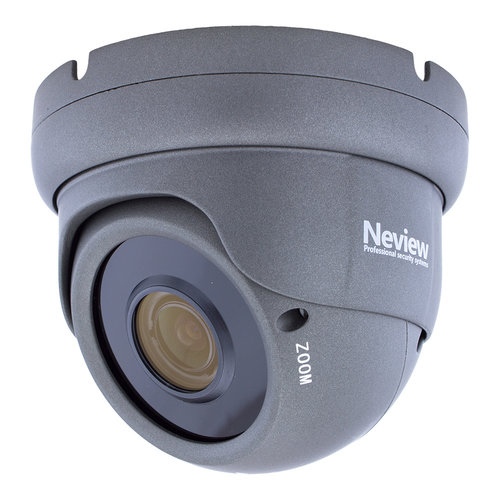 Neview CHD-5MD1-G - 5.0 MegaPixel IP camera met PoE - Grijs